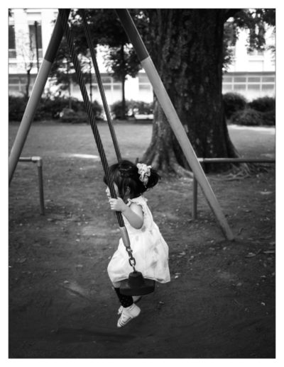 Childhood, recklessness and gravity